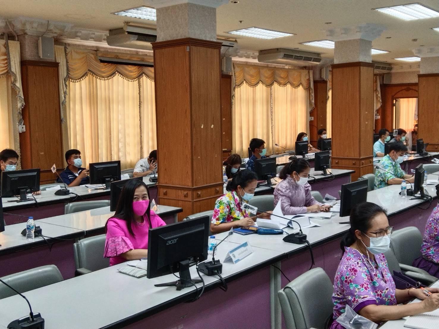 จังหวัดลพบุรี จัดการประชุมคณะกรรมการโรคติดต่อจังหวัดลพบุรีครั้งที่ 13/2564